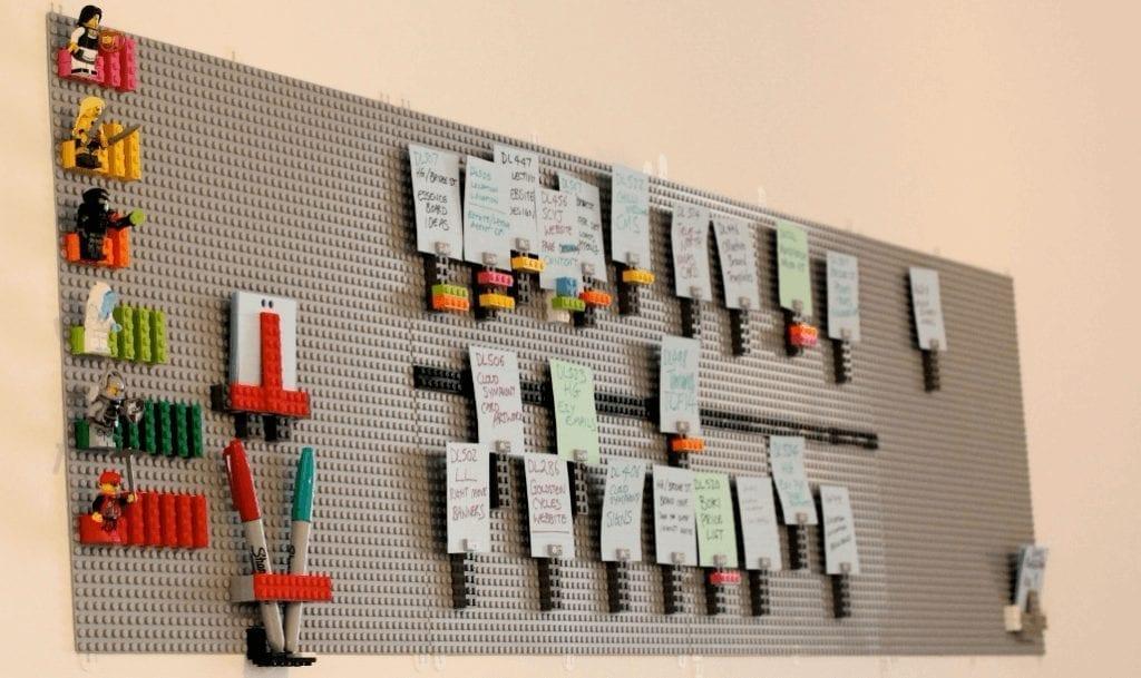 creative kanban board