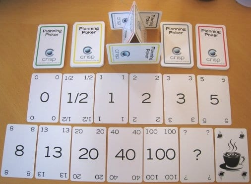 story points and planning poker