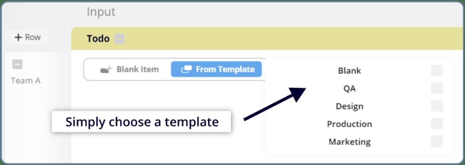 teamhood template work item