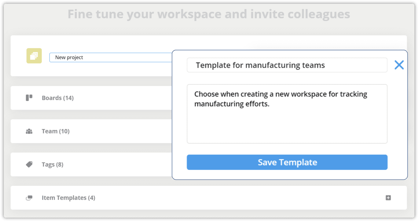 NW5 Workspace template