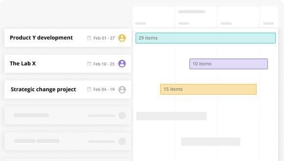 project portfolio feature