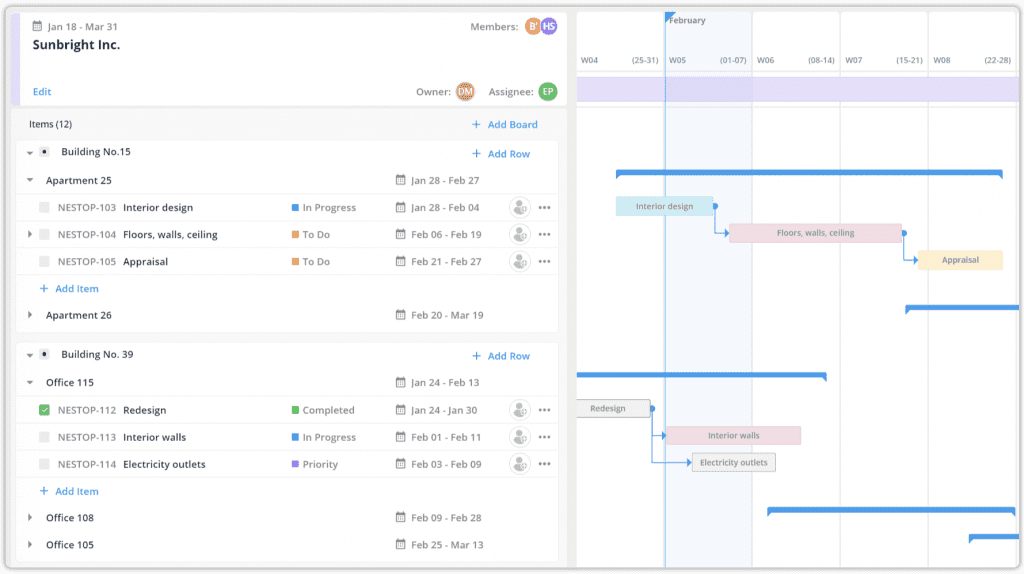 create a project management plan