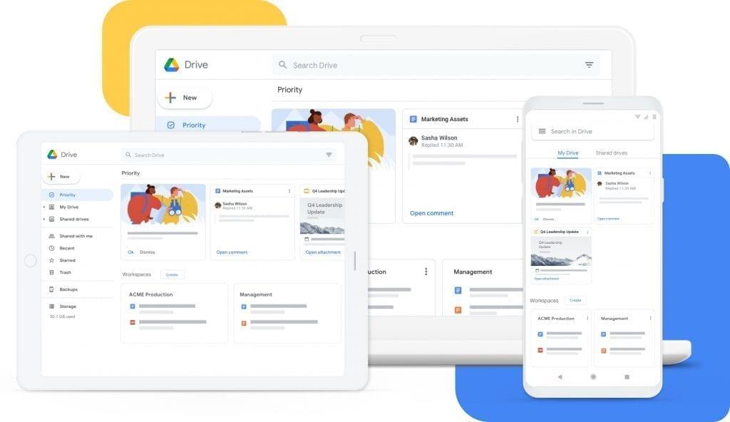 google drive remote collaboration tool