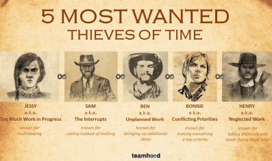 5 thieves of time