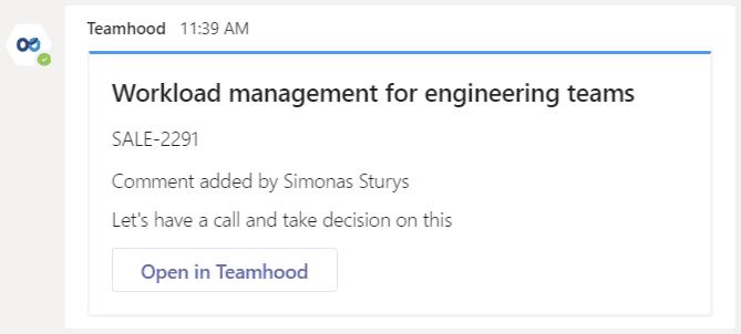 teamhood version 1.18